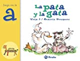 La pata y la gata: Juega con la a (Castellano - A PARTIR DE 3 AÑOS - LIBROS DIDÁCTICOS - El zoo de las letras)