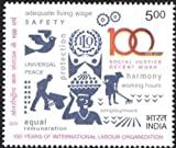 Stamp ILO stamp Indian stamps