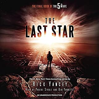 The Last Star     The Final Book of The 5th Wave              By:                                                                                                                                 Rick Yancey                               Narrated by:                                                                                                                                 Phoebe Strole,                                                                                        Ben Yannette                      Length: 9 hrs and 15 mins     2,706 ratings     Overall 4.2