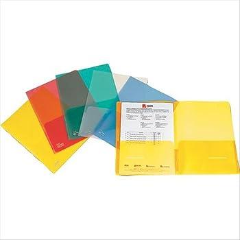 Rapesco 0788 Porta Oggetti A4 Colori Assortiti Doppia Tasca