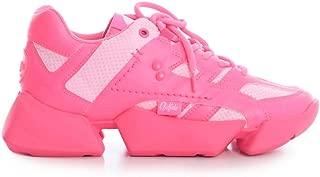 JUNYA WATANABE Luxury Fashion Womens JEK102051NEONPINK Pink Sneakers | Spring Summer 20