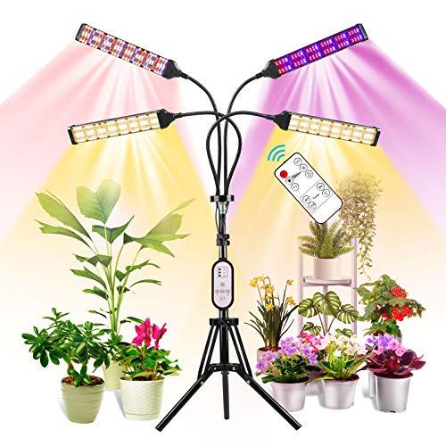 Derlights 768 LED Floor Plant Light with Stand, Light