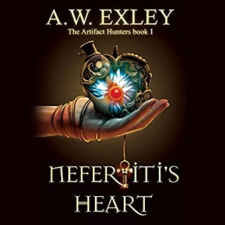 Nefertiti's Heart cover art