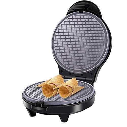 Gaufrier 800 W Électrique Oeuf Rouleau Maker Croustillant Omelette Moule Double-Face Chauffage Plat De Cuisson Pancake Ustensiles De Cuisson Glace Cône Machine gaufrier maker plaques amovibles