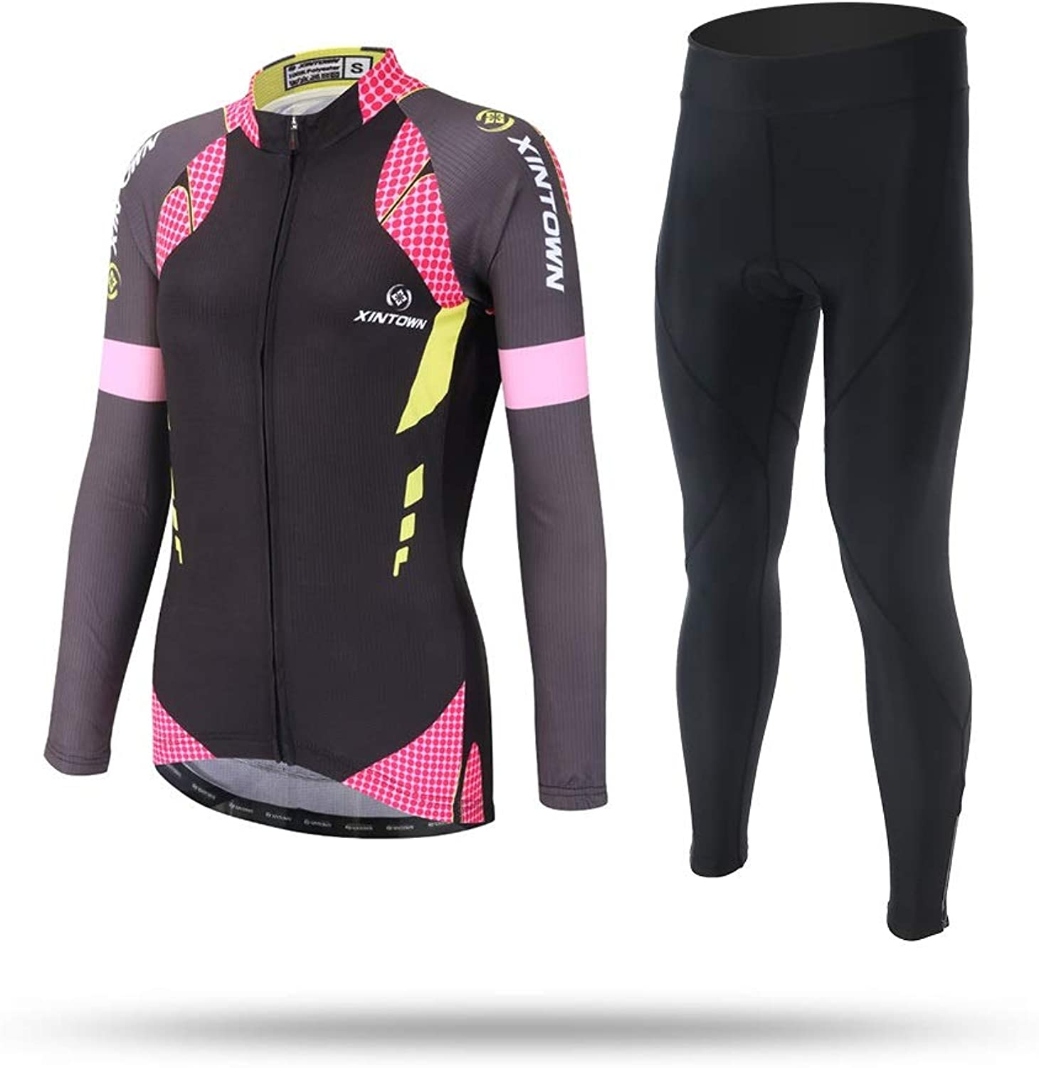 Women Cycling Jerseys Bike Shirts Lightweight Elastic Breathable TightFitting Maillot Sports Top MTB Spring Autumn Women Long Sleeve Cycling Jersey Clothing Pro Team Cycling Equipment