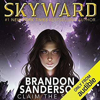 Skyward                   By:                                                                                                                                 Brandon Sanderson                               Narrated by:                                                                                                                                 Suzy Jackson                      Length: 15 hrs and 28 mins     15,571 ratings     Overall 4.8