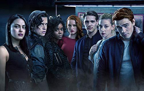 RiverdaleTelevision Movie Poster Limited Print Photo K.J. Apa, Lili Reinhart, Camila Mendes Size 8x10 #2