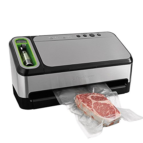 FoodSaver V4840 2-in-1 Vacuum Sealer Machine with...