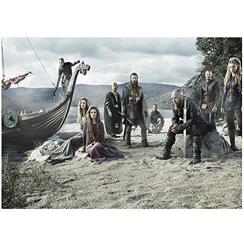 Puzzle para Adultos 1000 Viking Legend Rompecabezas de 1000 Piezas Poster Juegos Familiares Divertidos, Entretenimiento de Ocio y Pasatiempos de meditación (75x50cm)
