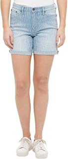 Calvin Klein Jeans Womens Roll Cuff Denim Short