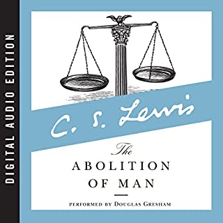The Abolition of Man audiobook cover art