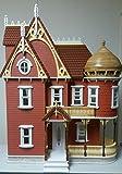 Melody Jane The Hannah Viktorianisch Mansion Puppenhaus mit Turret Flache Packung Laser Cut Set