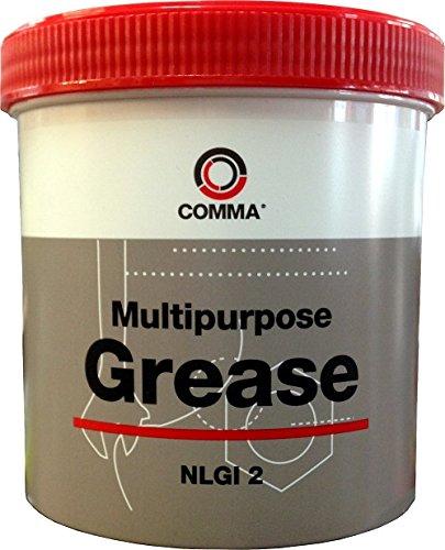 Comma GR2500G - Grasa de Litio Multiusos (500g)
