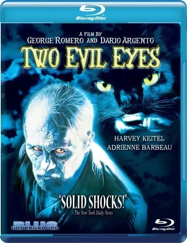 Two Evil Eyes Blu ray by Blue Underground product image