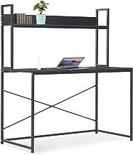 vidaXL Computer Desk Home Bedroom Living Room Office Furniture Writing Laptop Table Work Stand Corner Workstaion Black 120...