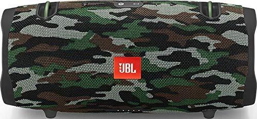 JBL Xtreme 2 - Altavoz BT portátil resistente al agua (IPX7) con manos libres y radiador de bajos JBL, JBL Connect+, batería 15h, camuflaje