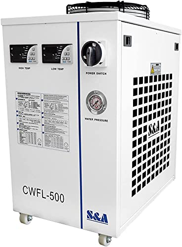 2021 Cloudray new arrival S&A Industry Chiller Fiber CWFL-500BN online For Fiber Laser-Equipment sale