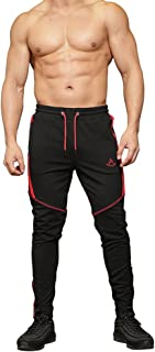 Shakestron Men's Workout Joggers Sweatpants,Gym Running Pants With Pockets
