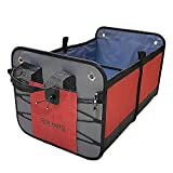 Rainberg Car Boot Organiser Heavy Duty Material for Family and Picnic Use | Storage for car boot and seat accessory| Use in Camper Van, Family Cars, Quad Bikes, Golf Cart