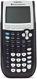 Texas Instruments TI-84 Plus Graphics Calculator, Black Color: Black CustomerPackageType: Standard Packaging, Model: 84PL/TBL/1L1, Electronics & Accessories Store