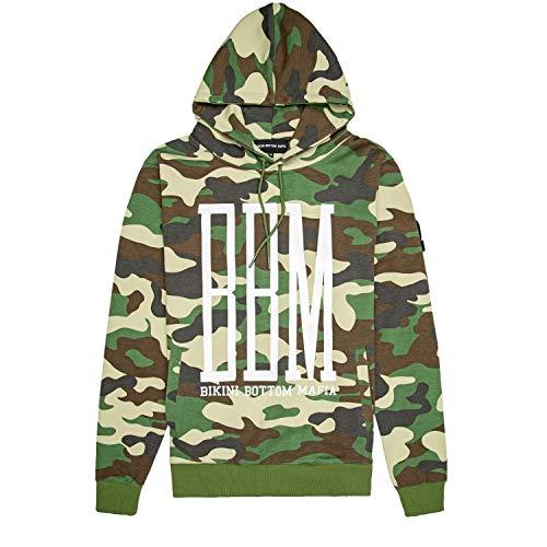 \m/-\m/ SPONGEBOZZ - BBM White Logo - Camouflage - Kapuzenpullover/Hoodie Größe S