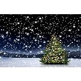 Accesorios de Fondo de fotografía Fondo de fotografía de Paisaje de Invierno Fondo de Estudio fotográfico de Vinilo Accesorios A26 10x10ft / 3x3m