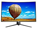 HKC MB32A2F3 (32 Pulgadas) Curved Monitor (Full HD 1920x1080 Pixel, 8ms, HDMI, VGA) Negro
