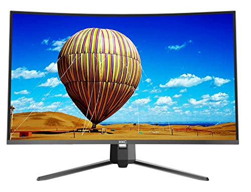 HKC MB32A2F3 (32 inch) curved monitor (Full HD 1920x1080 pixels, 8ms response time, HDMI, VGA) black