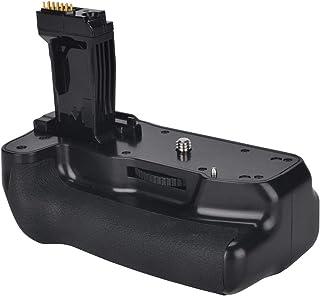 Newmowa Mango de Repuesto Battery Grip para Canon 760D/750D/IX8/T6S/T6I Cámara réflex Digital