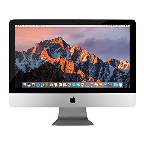 Apple iMac 21.5in MD093LL/A -Late 2012 Intel Quad Core i5-3330S 2.7GHz 8GB 1TB DVD WiFi Webcam Bluetooth Wireless Keyboard & Mouse OS X MOJAVE (Renewed)