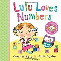 Lulu Loves Numbers by Camilla Reid(2015-03-24)