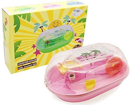 BPS® Cage Hamster Chalet Maison pour Hamster avec...