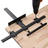 Lonfu Cabinet Hardware Jig Aluminum Alloy Adjustable Drill Guide for...