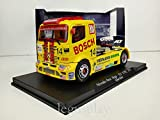 FLy Slot Scalextric Truck GBtrack 08001 Compatible Mercedes Benz Atego Fia ETRC 2001