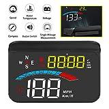 Head Up Display, iKiKin Car HUD Display GPS Speedometer for Car Windshield Screen