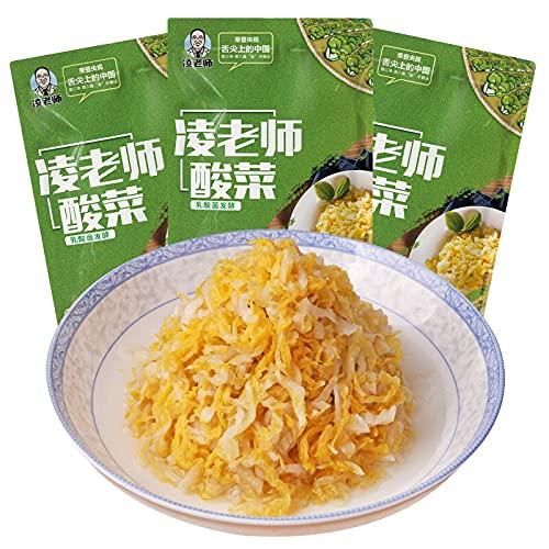 Regular dealer 舌尖3凌老师酸菜 Genuine 350g3袋切äÂ