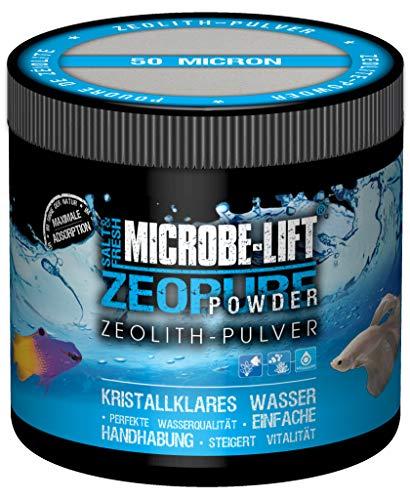 MICROBE-LIFT Zeopure Powder - Zeolith-Pulver für kristallklares Wasser, entfernt Schadstoffe, optimal zur Verwendung in jedem Meerwasser- & Süßwasseraquarium, 500ml / 250g