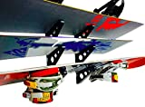 StoreYourBoard Snowboard Multi Wall Rack, Home Storage & Organization Horizontal Mount, Holds 3 Boards