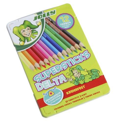 JOLLY Superstick DELTA 12er im Metalletui, 3003-0013