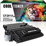 Cool Toner Compatiblie per HP 81A CF281A 81X CF281X per HP Laserjet Pro MFP M604 M605 M606 M630 series Toner, Nero, 11000 Page