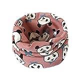 Leisial Bebé Pañuelos de Cuello Algodón de Dibujos Animados Collar del Bufanda Algodón Chal para Otoño Invierno