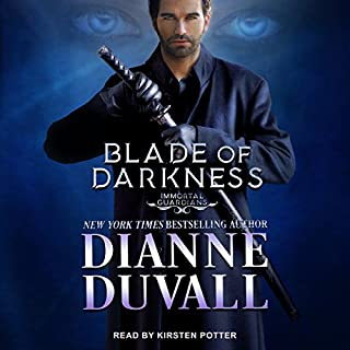 Blade of Darkness     Immortal Guardians, Book 7              By:                                                                                                                                 Dianne Duvall                               Narrated by:                                                                                                                                 Kirsten Potter                      Length: 13 hrs and 15 mins     1,580 ratings     Overall 4.8