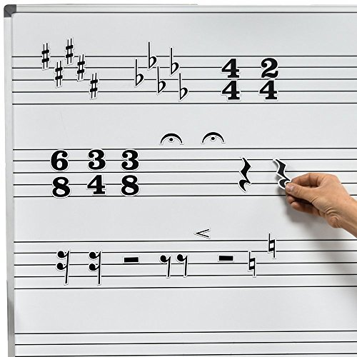 Chamberlain música wmn20música símbolo magnético para pizarra blanca