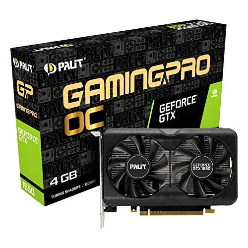 Palit GeForce GTX 1650 GP OC - Grafikkarten - GF GTX 1650 - 4 GB