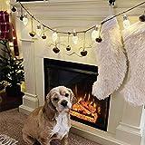 YZ-YUAN Exquisito Target Bullseye Patio de recreo Árbol de Navidad Luces de Nieve Luces de Navidad Luces de Hadas Impermeables para Halloween Fiesta navideña de Navidad Patio en casa Decoración al a