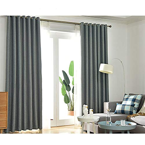 cortinas cocina gris