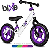 Purple (4LBS) Aluminum Balance Bike for Kids and Toddlers - 12' No Pedal Sport Training Bicycle for Children Ages 3,4,5