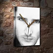PETER FACINELLI - Canvas Clock (A5 - Signed by the Artist) #js002