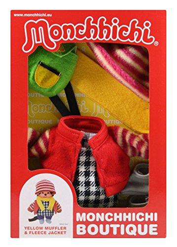Sekiguchi 254780 Monchhichi Boutique B4 Tenue d'hiver avec écharpe