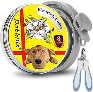 comprar comparacion dothnix Collares Antiparasitos para Perros y Gatos contra Pulgas, Garrapatas y Mosquitos, 8 Meses de Protección, con Corta...